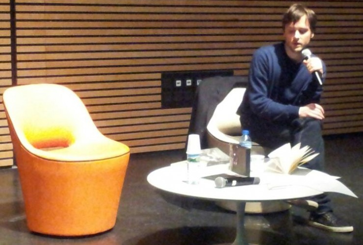 Maël Guesdon à la médiathèque du Marsan