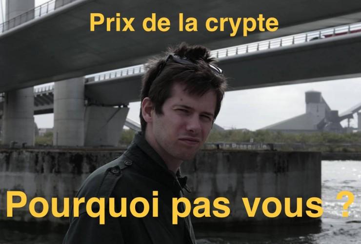 Et le Prix de La Crypte 2014 revient à …