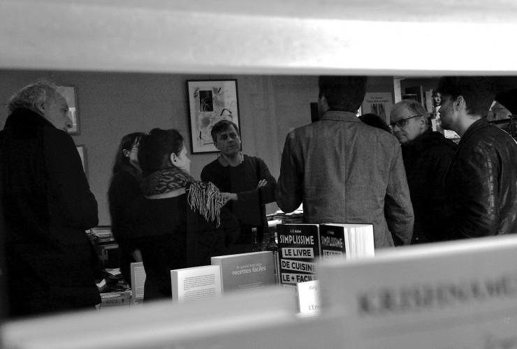 Lecture/Rencontre poétique, Sylvie Marot, Louis Raoul