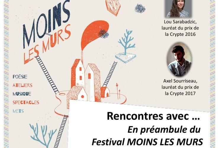 29 mai 2019 / En préambule du festival 'Moins les murs'…