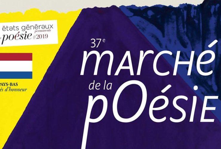 5 au 9 juin / Marché de la poésie 2019