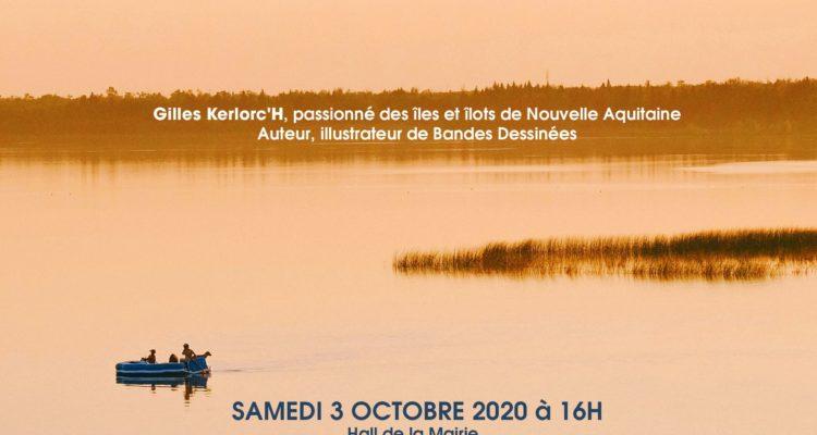 Samedi 03.10.20, Gilles Kerlorc'h et La Crypte à Magescq