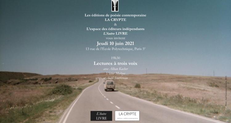 La Crypte à Paris le 10 juin !